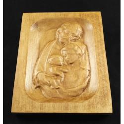 Rzeźba drewniana - Św. Rodzina