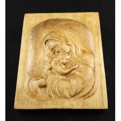 Rzeźba drewniana - Madonna