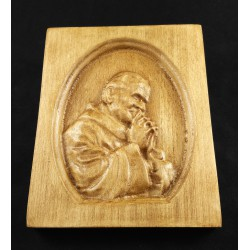 Rzeźba drewniana - Św. Jan Paweł II